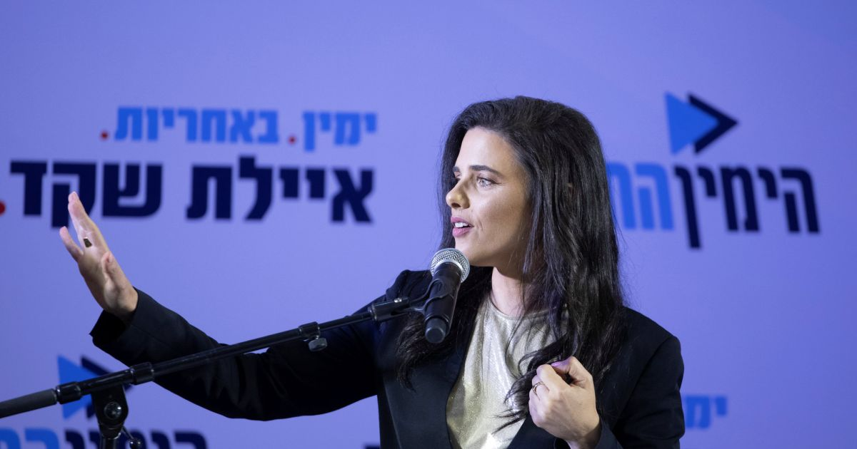 Analysis Shaked Wants to Lead the Right. Netanyahu Will Do Anything to Stop Her