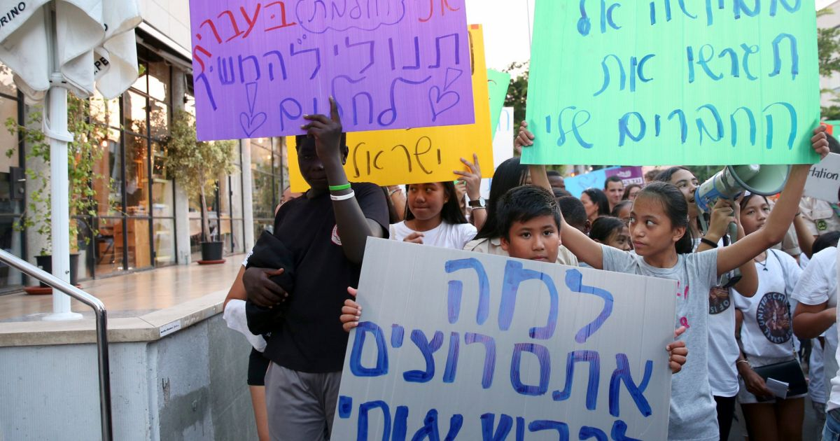 Predawn Raid Launches Israel's Campaign to Deport Filipina Immigrants and Their Children