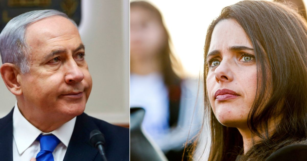 Ayelet Shaked Takes Netanyahu to Task for Opposing Her Efforts to Lead Right-wing Slate