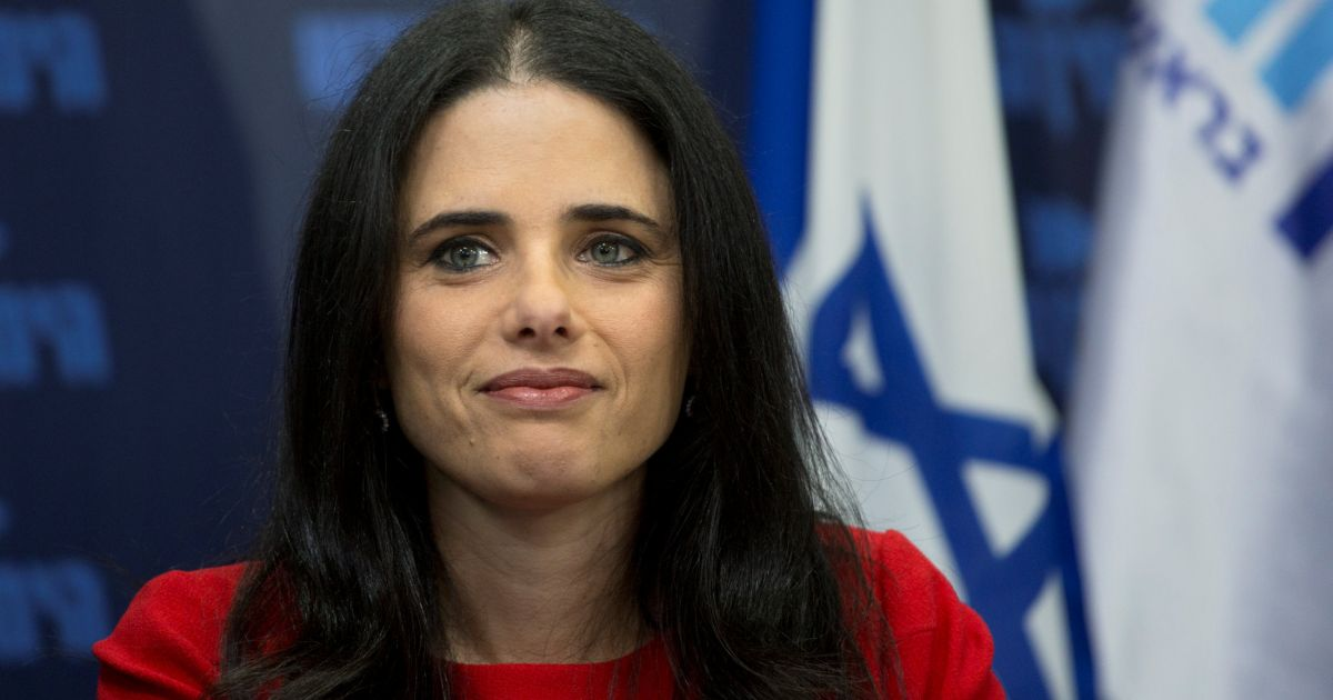 Opinion Shaked, a Secular Woman, Heading a Political Party? Oh, the Joys of Liberal Fascism