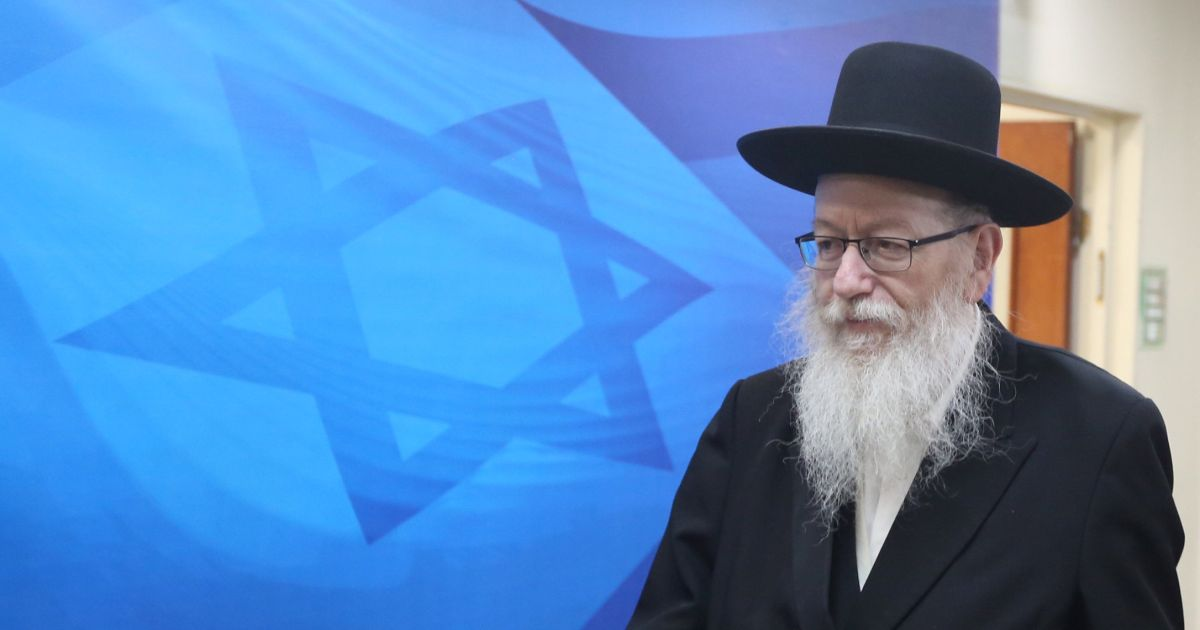Israel's health czar, accused of aiding pedophile, knows he can do