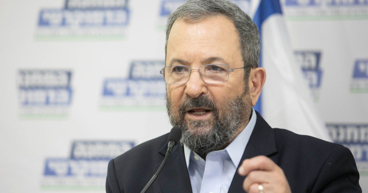 Ehud Barak received $2.3 million for two studies, one was not completed, Wexner Foundation says