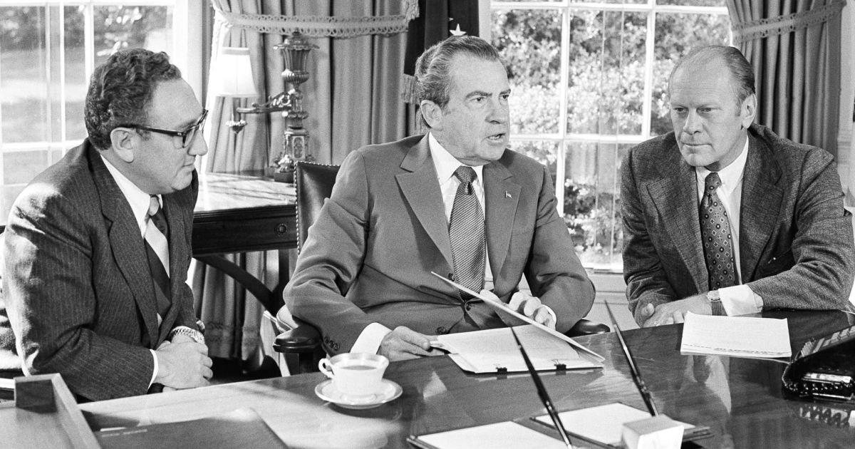 Declassified: When a 'loaded' Nixon confused Syria and Egypt during Yom Kippur War - U.S. News - Haaretz.com
