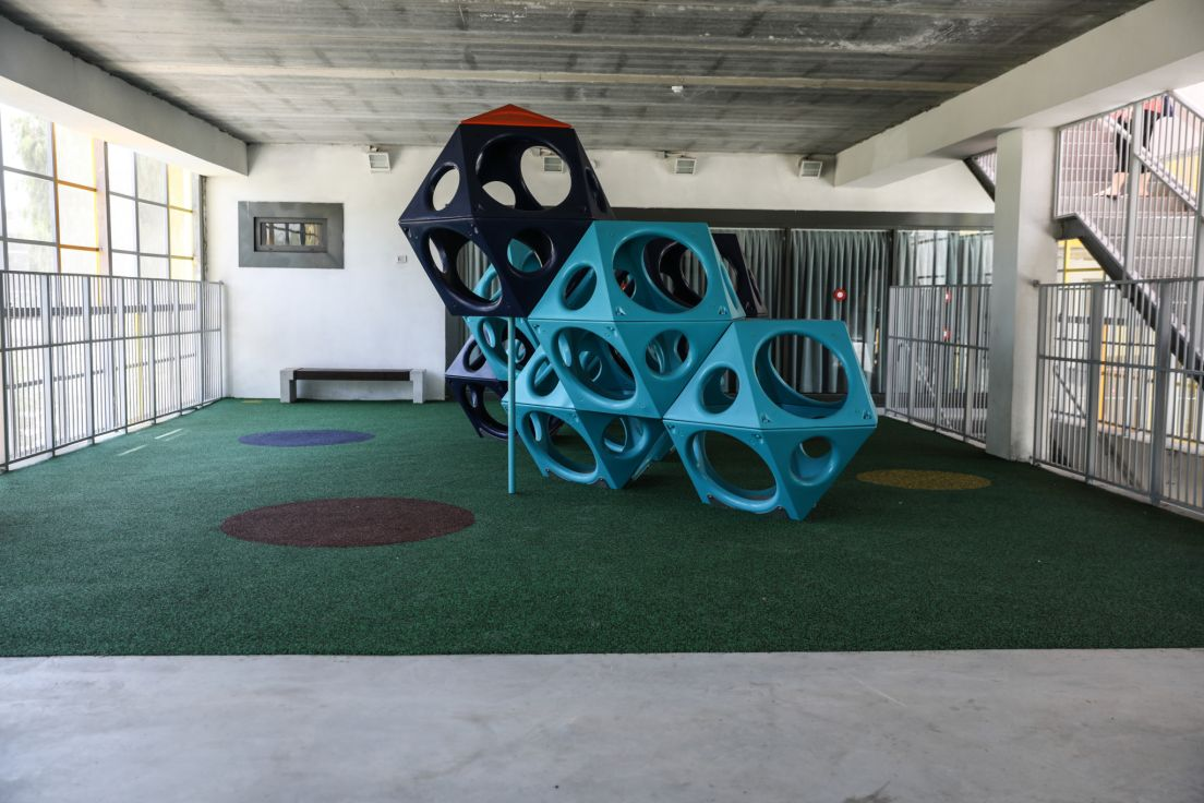 Beautiful inside and out, 'inclusive' Tel Aviv school is