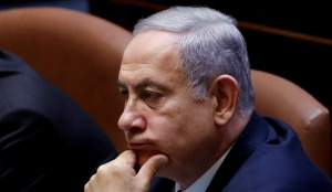 Netanyahu attends the swearing-in ceremony of the 22nd Knesset, in Jerusalem October 3, 2019.