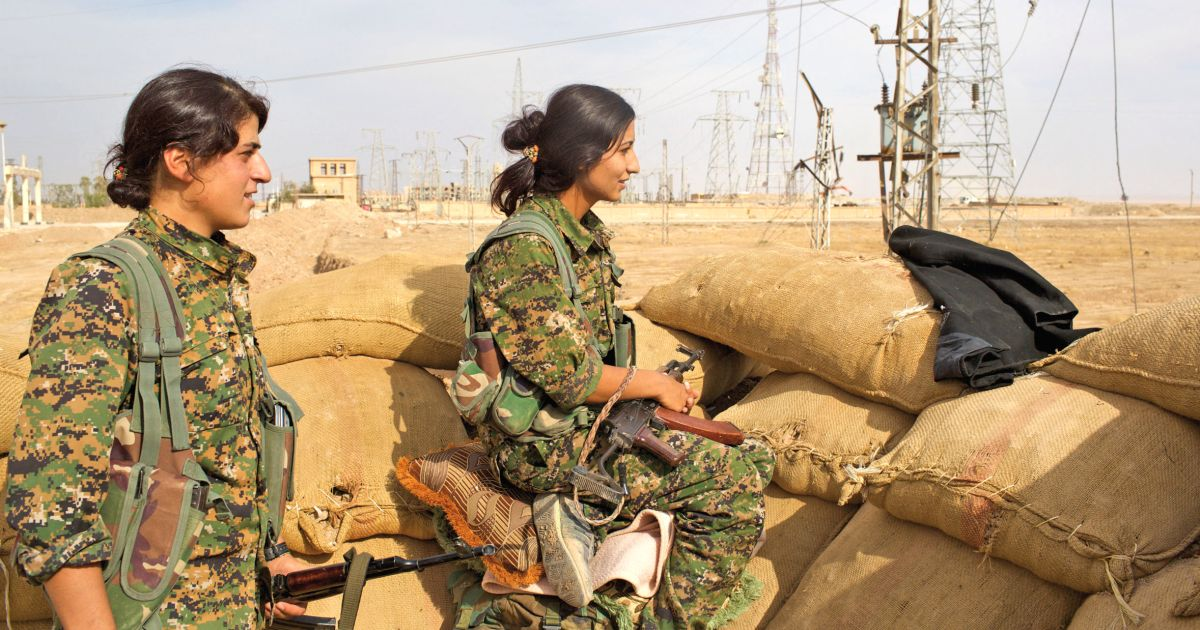 These Kurdish women fought on the frontlines against ISIS. Now they're the No. 1 target in Syria