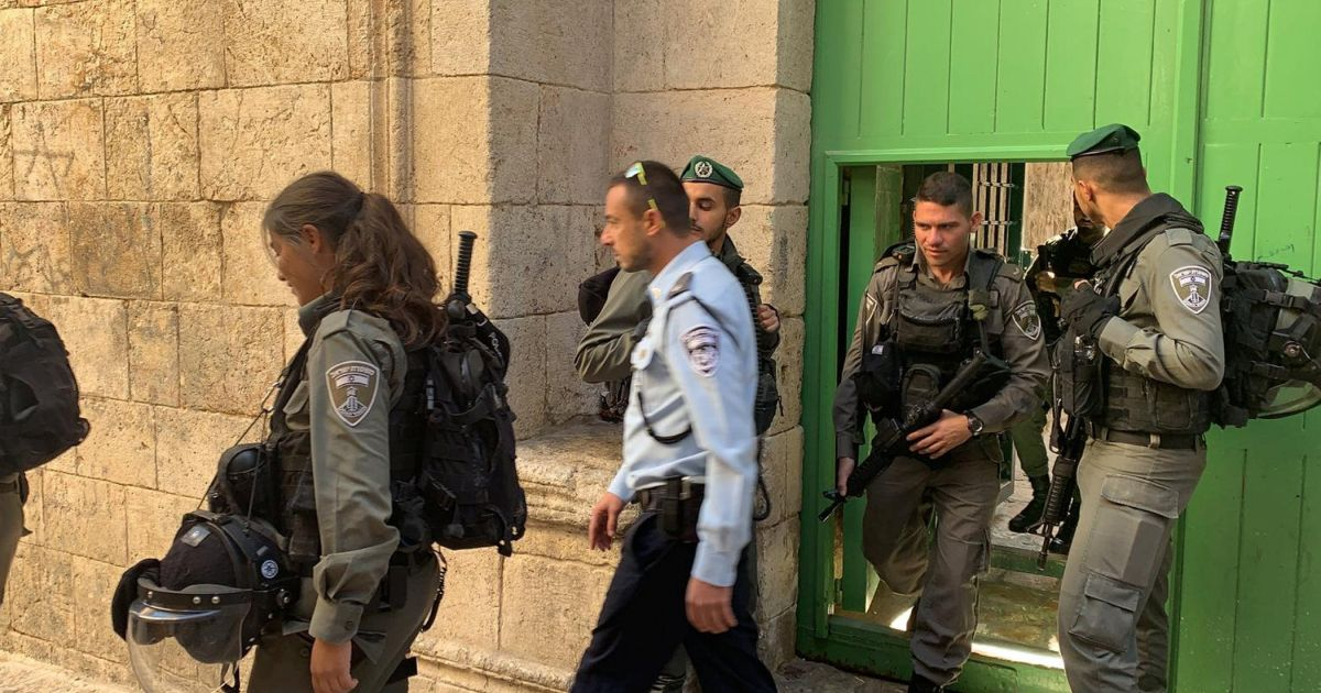 Israel Police raids Jerusalem school it claims used by Palestinian Authority