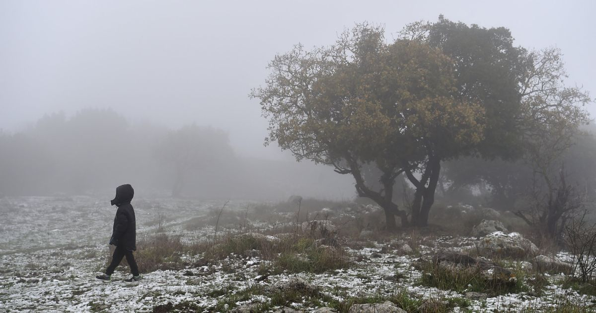 Snow descends on Israel's north as Sea of Galilee's water level rises