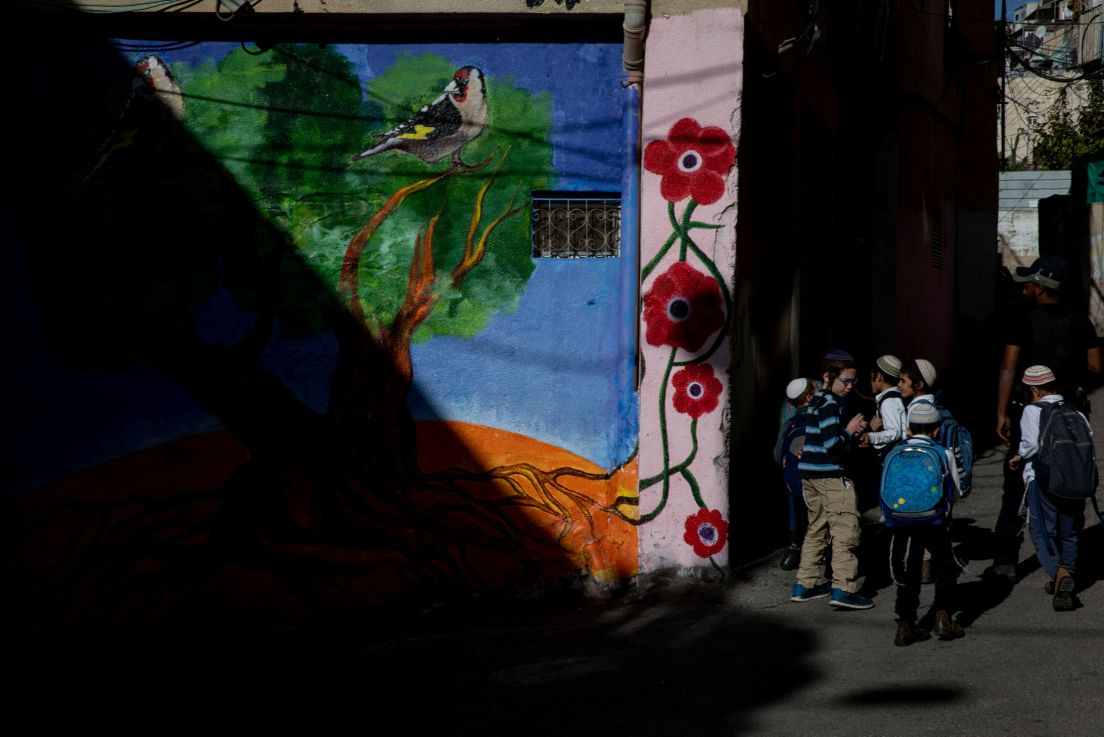 Image:  A mural in Silwan, December 2019. Credit: Ohad Zwigenberg