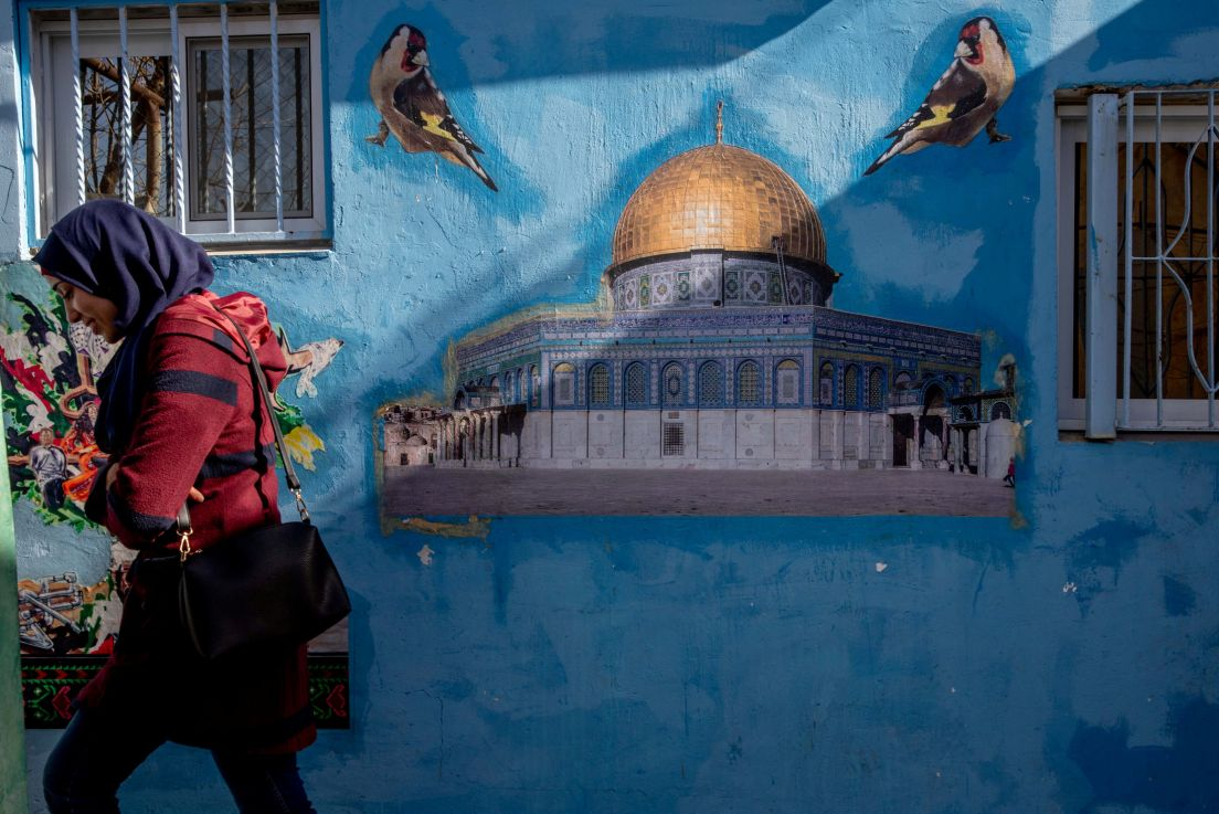 Image:  A mural in Silwan, December 2019.Credit: Ohad Zwigenberg