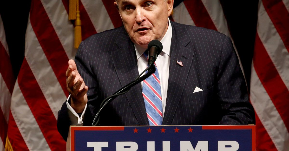 Giuliani Doubles Down on Jewish Soros Comments, Saying the Philanthropist Uses Judaism as 'A Shield and a Sword'
