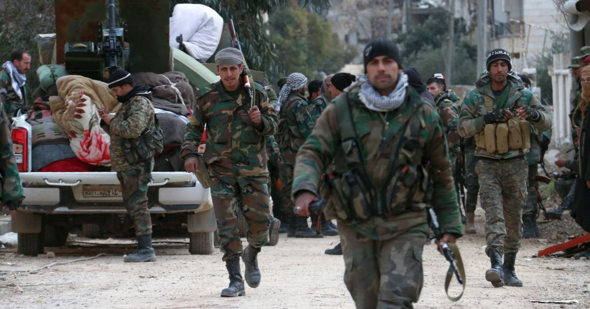 Syria's military hails 'record time' advance against rebels in northwest