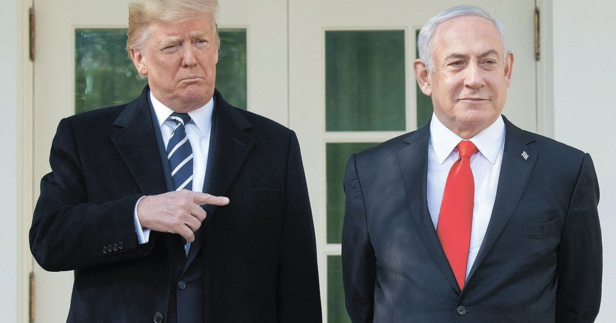 Annexation echoes Trump and Netanyahus shared defiance of...