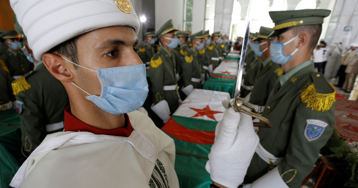 On independence anniversary, Algeria lays to rest anti-colonial fighters returned from France