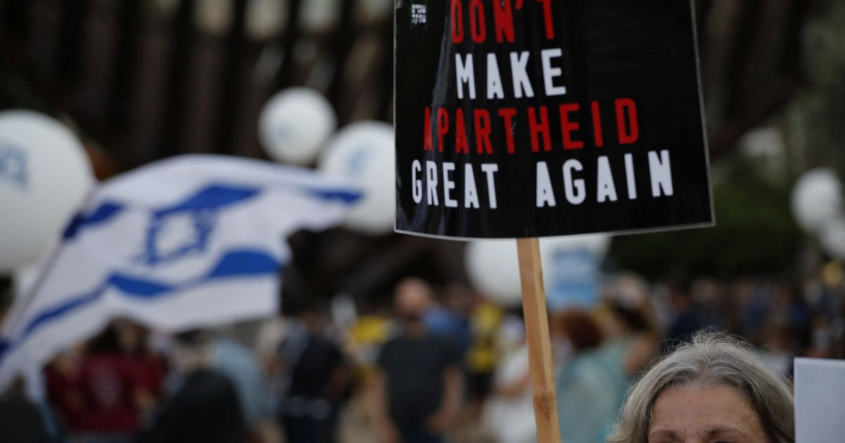 The message: West Bank annexation = apartheid | Opinion