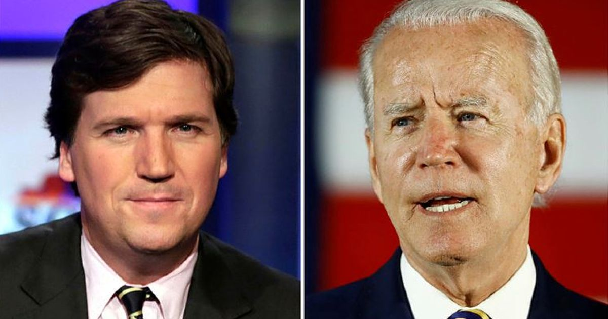 Biden campaign rips Tucker Carlson: 'Hate speech masquerading as journalism'