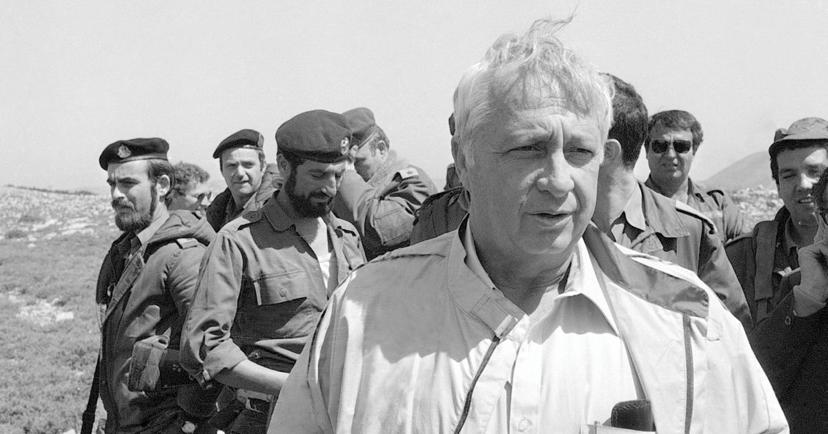 40-year-old Document Reveals Ariel Sharon's Plan to Expel 1,000 Palestinians