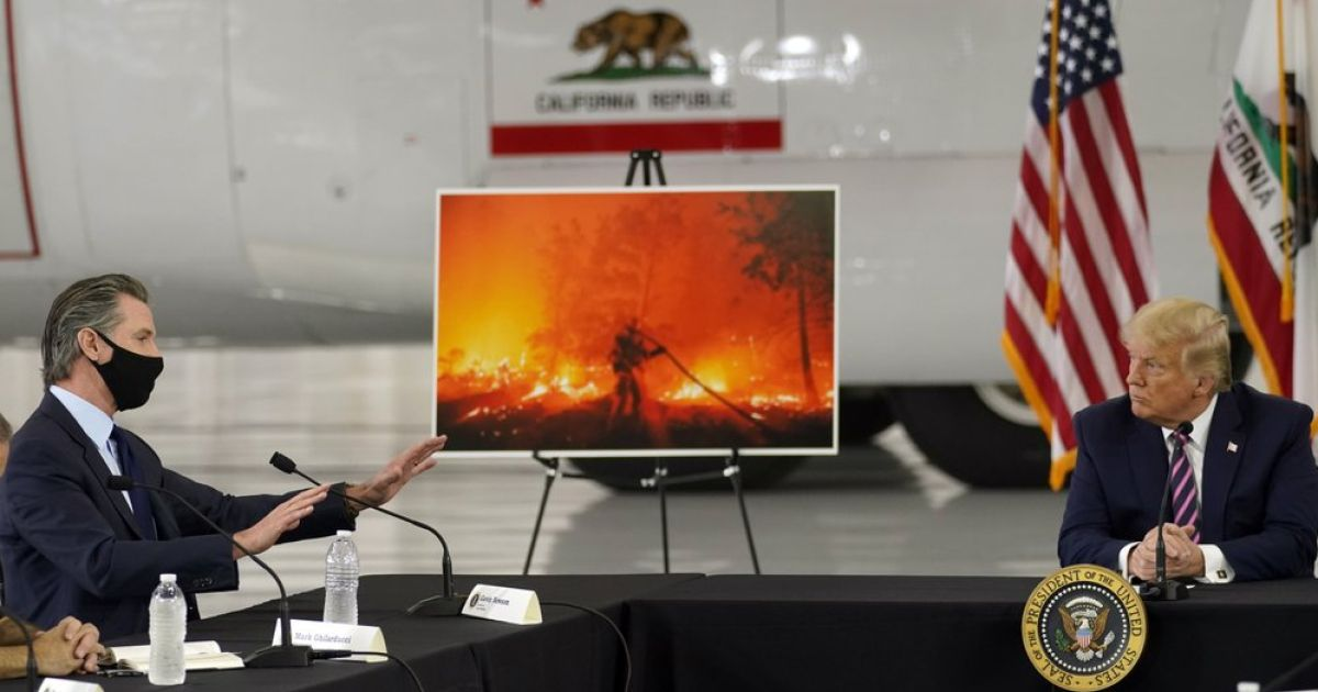 Trump Spurns Science on Climate Change Amid Fires: 'Don't Think Science Knows'