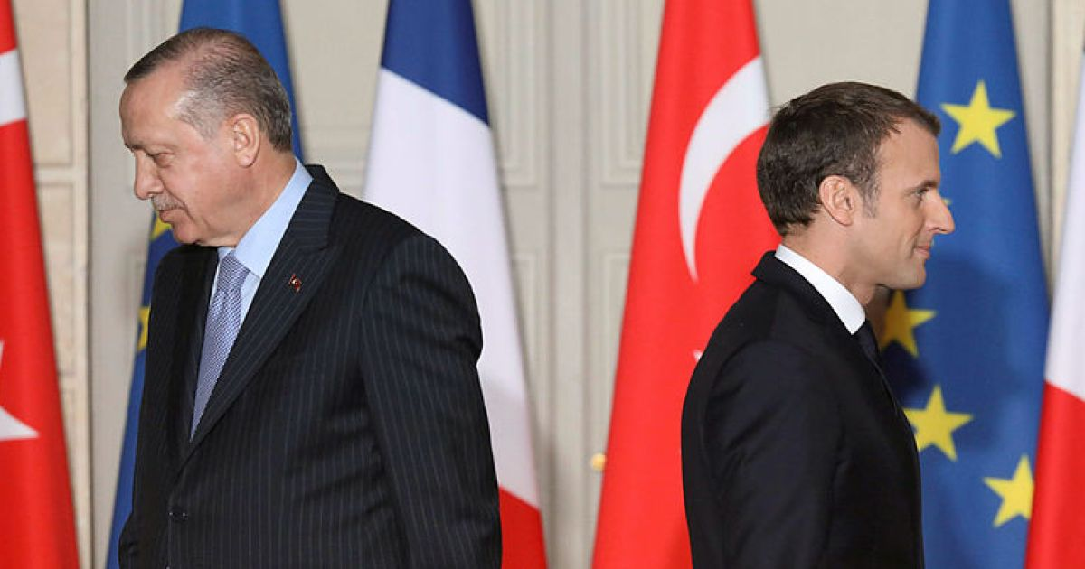 Analysis Erdogan's Attack on Macron Exposes Minefield Between Europe and Turkey