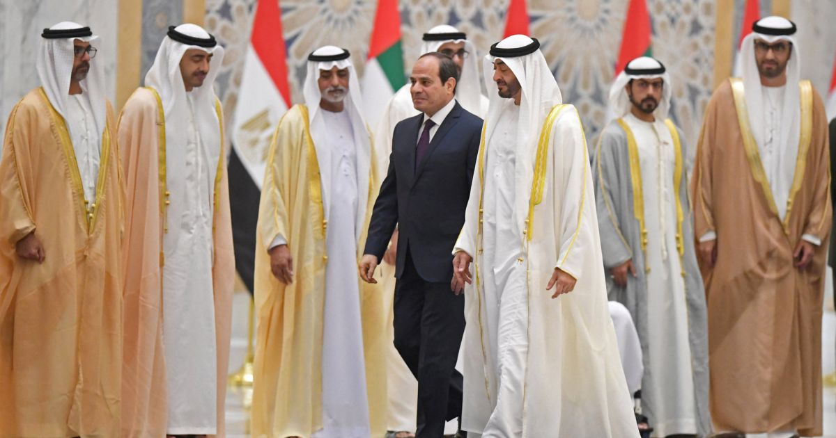 Once Allies, Cairo Wrestles Abu Dhabi for Influence in the Middle East