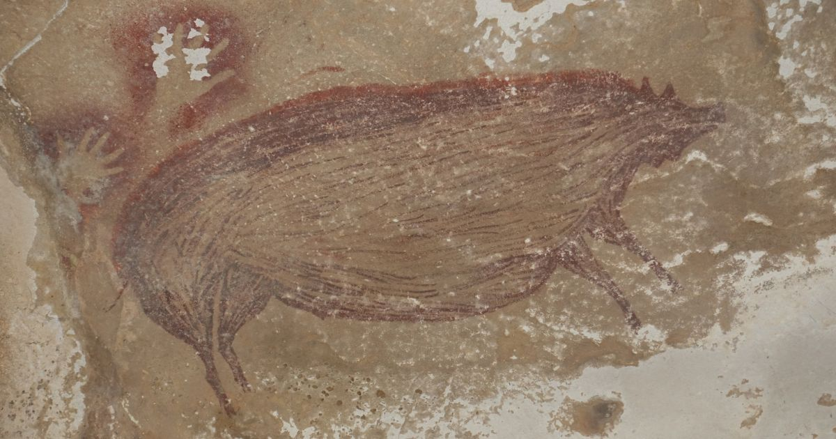 Archaeologists Find Oldest Picture in the World. It's a Pig